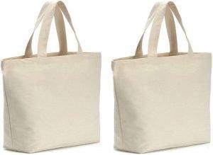 Axe Sickle Canvas Reusable Grocery Bag