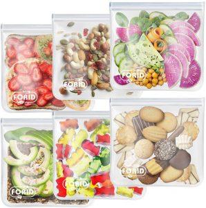 FORID Reusable Freezer Bags