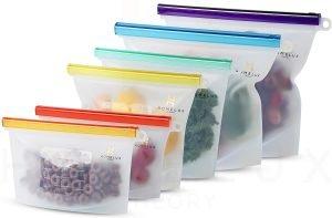 Homelux Reusable Freezer Bags