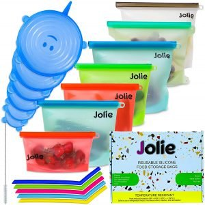 Jolie Reusable Freezer Bags
