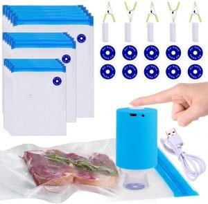 Kosbon Reusable Freezer Bags