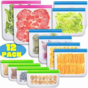 ZESSTI Reusable Freezer Bags