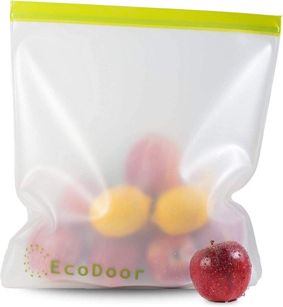 EcoDoor Reusable Food Storage Bags