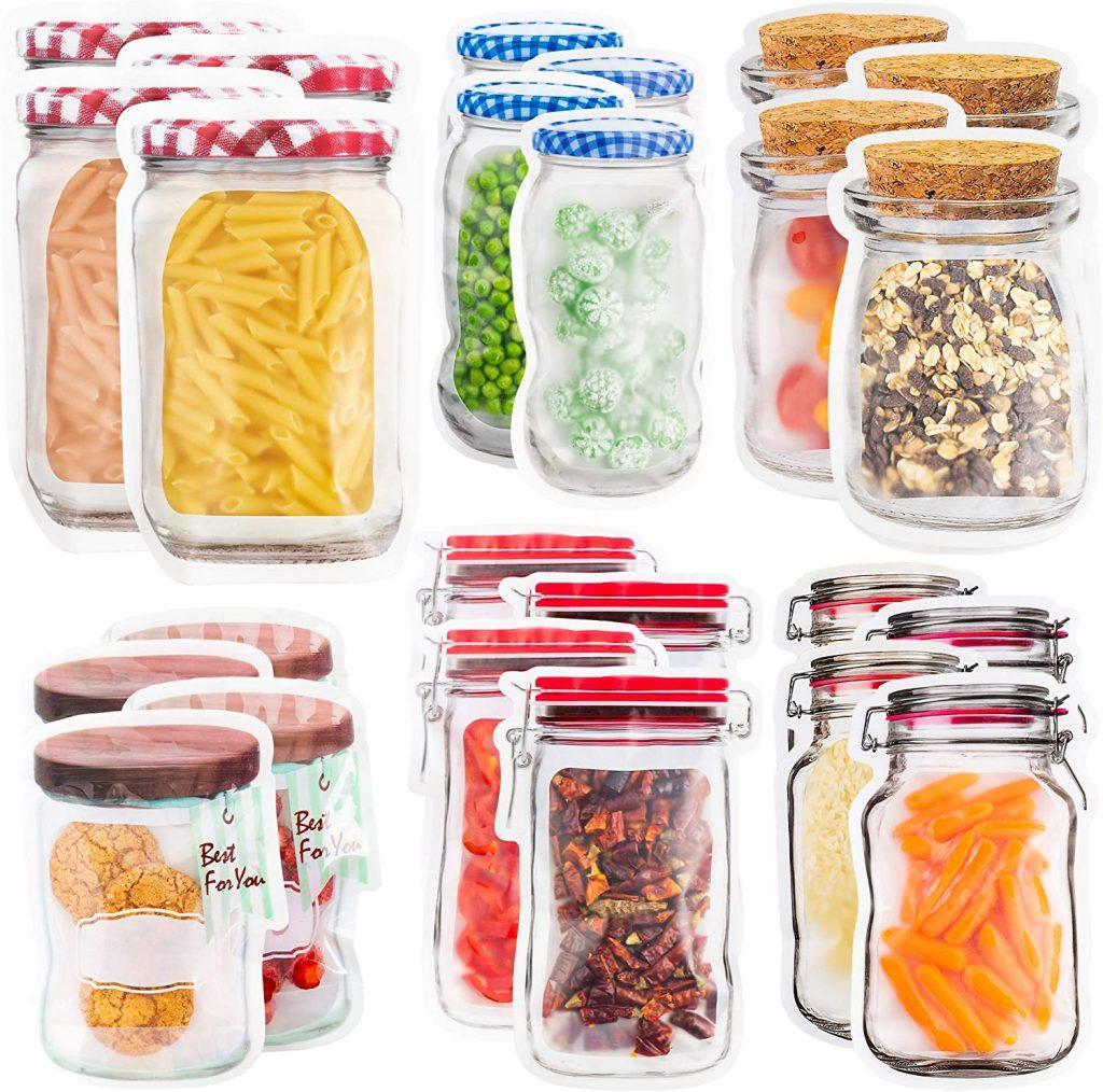 Housenior Reusable Food Storage Bags