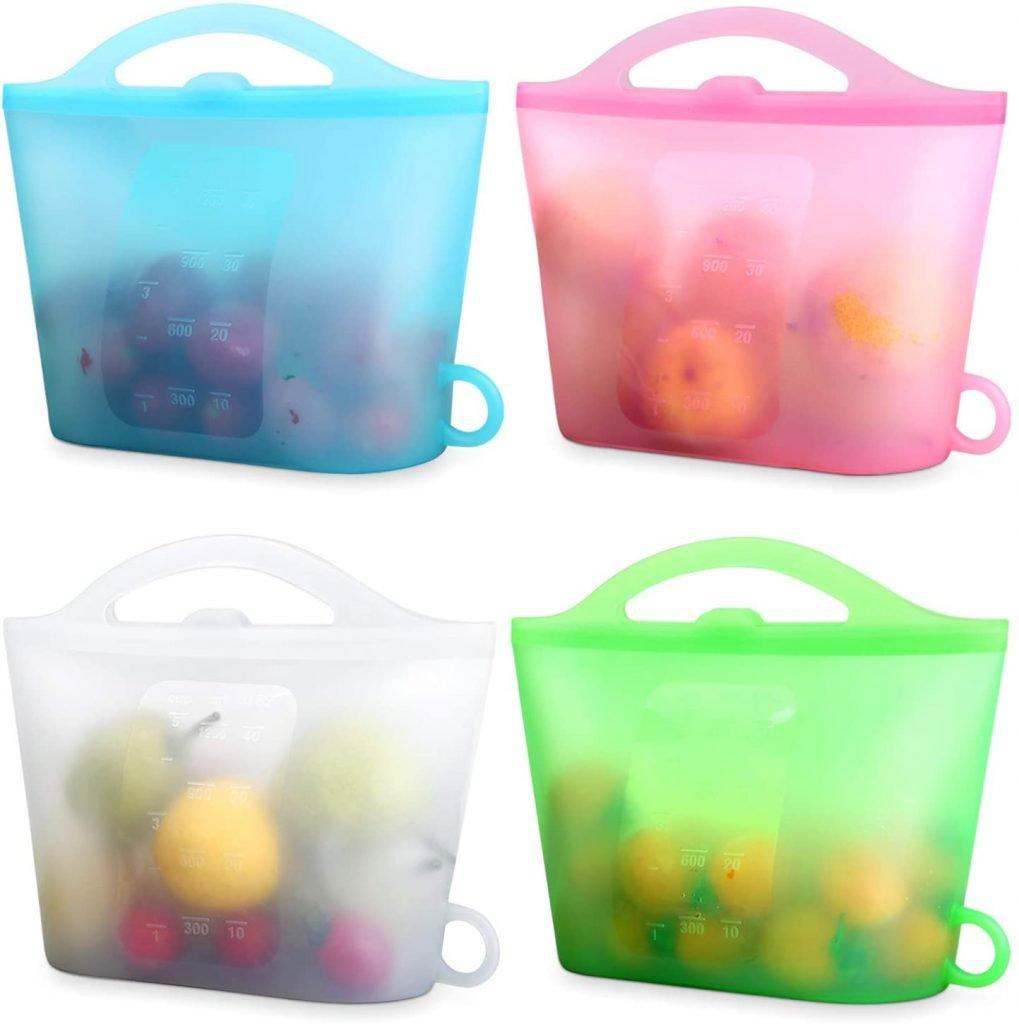 XUANMEIKE Reusable Food Storage Bags